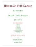 Roumanian Folk Dances for Flute Choir