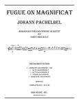 Fugue on Magnificat