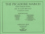 The Picador March for Saxophone Choir