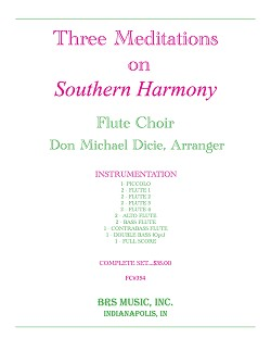 Three Meditations on Southern Harmony