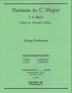 Fantasia in C Major (String Orchestra)