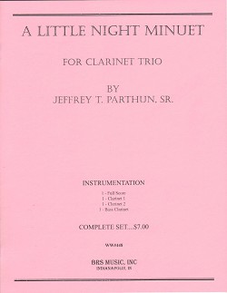 A Little Night Minuet for Clarinet Trio