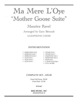 Ma Mere L'Oye (Mother Goose Suite). Maurice Ravel