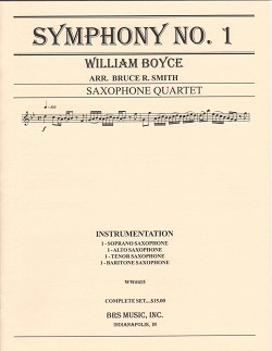 Symphony No. 1 for Saxophone Quartet