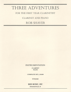 Three Adventures for the First Year Clarinetist