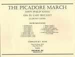 The Picador March for Clarinet Choir