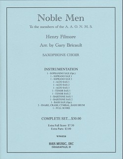 Noble Men (sax choir)