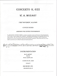 Concerto K. 622 1st Movement, Mozart