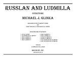 Overture: Russlan and Ludmilla for Clarinet Choir